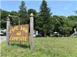 View larger image of The front entrance sign at CAPE ANN CAMP SITE image #1