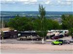 View larger image of RVs parked in a row at RAPID CITY RV PARK AND CAMPGROUND image #6