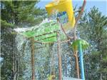 View larger image of Giant colorful splash bucket pouring water down at LAKE GEORGE RV PARK image #4