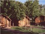 View larger image of Log cabins at campground at HAPPY HOLIDAY RESORT image #5