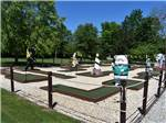 View larger image of Miniature golf course with animal statues at GETTYSBURG CAMPGROUND image #3