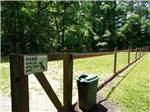 View larger image of Dog exercise area at AMERICAN HERITAGE RV PARK image #9