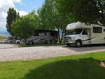 View larger image of RVs parked in gravel sites at WONDERLAND RV PARK image #4