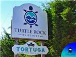 View larger image of Sign leading into campground at TURTLE ROCK RV RESORT image #3