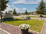 View larger image of RVs and truck and trailers camping at ENNIS RV VILLAGE image #2