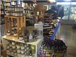 View larger image of Inside of the general store at BUCKHORN LAKE RESORT image #4