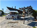 View larger image of One of the flower planters at BUCKHORN LAKE RESORT image #11