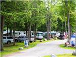 View larger image of RVs and truck and trailers camping at PATTEN POND CAMPING RESORT image #1