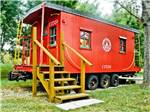 View larger image of Boxcar at CABOOSE LAKE CAMPGROUND image #3