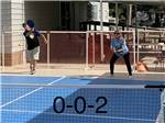 View larger image of People playing pickleball at SUNNY ACRES RV PARK image #11