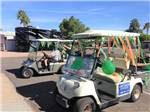 View larger image of Girl playing shuffleboard at DESERT SHADOWS RV RESORT image #10
