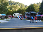 View larger image of People camping in RVs and trailers at RIVER VISTA RV RESORT image #4