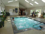 View larger image of Indoor swimming pool at RIVER VISTA RV RESORT image #6