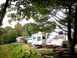 View larger image of Trailers camping at campsite at CAMPFIRE LODGINGS image #5