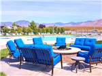 View larger image of Campfire by the pool at WINE RIDGE RV RESORT  COTTAGES image #11