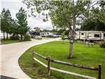 View larger image of Concrete road leading to RV sites at FERNBROOK PARK image #9