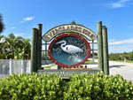 View larger image of The front entrance sign at EVERGLADES ISLE MOTORCOACH RESORT  MARINA image #1