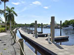 View larger image of The empty boat docks at EVERGLADES ISLE MOTORCOACH RESORT  MARINA image #3