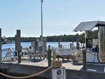View larger image of The gas station at the boat docks at EVERGLADES ISLE MOTORCOACH RESORT  MARINA image #9
