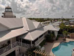 View larger image of An aerial view of the clubhouse and pool at EVERGLADES ISLE MOTORCOACH RESORT  MARINA image #10