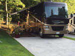 View larger image of RV at campsite at YOGI BEARS JELLYSTONE PARK OF PIGEON FORGEGATLINBURG image #2