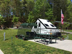 View larger image of Mini trailer at campsite at YOGI BEARS JELLYSTONE PARK OF PIGEON FORGEGATLINBURG image #5