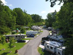 View larger image of Aerial view over campground at YOGI BEARS JELLYSTONE PARK OF PIGEON FORGEGATLINBURG image #9