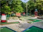 View larger image of Miniature golf course at PA DUTCH COUNTRY RV RESORT image #2