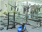 View larger image of Weight room at DIAMOND CAVERNS RV RESORT  GOLF CLUB image #1