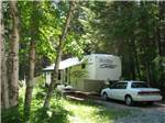 View larger image of Trailer camping at campsite at OUTBACK MONTANA RV PARK  CAMPGROUND image #2