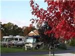 View larger image of RVs parked at campground at PETOSKEY RV RESORT image #2