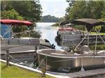 View larger image of Boats docked on the water at FISHERMANS COVE GOLF  RV RESORT image #4