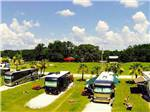 View larger image of Aerial view over campground at RED GATE CAMPGROUND  RV PARK image #5