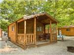 View larger image of Log cabins at campground at DRIFTWOOD RV RESORT  CAMPGROUND image #6