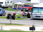 View larger image of RVs tents and trailers at campground at 370 LAKESIDE PARK RV CAMPGROUND image #1