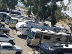 View larger image of Aerial view of RVs parked at THE RV PARK AT THE PIMA COUNTY FAIRGROUNDS image #12