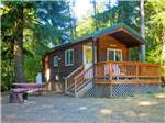 View larger image of Cabin with deck at CHEHALIS RESORT image #4