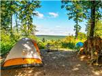 View larger image of Tent with picnic table at CHEHALIS RESORT image #5