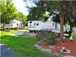 View larger image of Trailers camping at campsite at TIMOTHY LAKE NORTH RV PARK image #1
