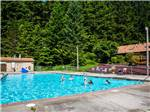 View larger image of People swimming in pool at SOUTH JETTY RV  CAMPING RESORT image #4