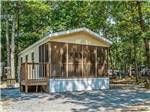 View larger image of Cabin with deck at SEA PINES RV RESORT  CAMPGROUND image #4