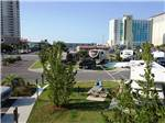 View larger image of View of campgrounds and hotels at PENSACOLA BEACH RV RESORT image #8