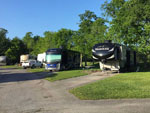 View larger image of RVs and trailers at campgrounds at HIDDEN LAKE RV PARK image #3