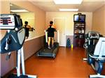 View larger image of Exercise room at NORTHLAKE VILLAGE RV PARK image #7