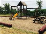 View larger image of Playground with swing set at KEARNEY RV PARK  CAMPGROUND image #4