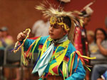 View larger image of Kid dressed like Indian at WIND RIVER CASINO image #2