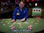 View larger image of Black Jack dealer at Casino at WIND RIVER CASINO image #4