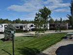 View larger image of RVs and trailers at campground at CAMP N CLASS RV PARK image #10