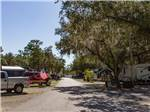 View larger image of 4 people playing shuffleboard at SEMINOLE CAMPGROUND image #4