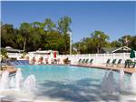 View larger image of Patio area with seating at SEMINOLE CAMPGROUND image #8